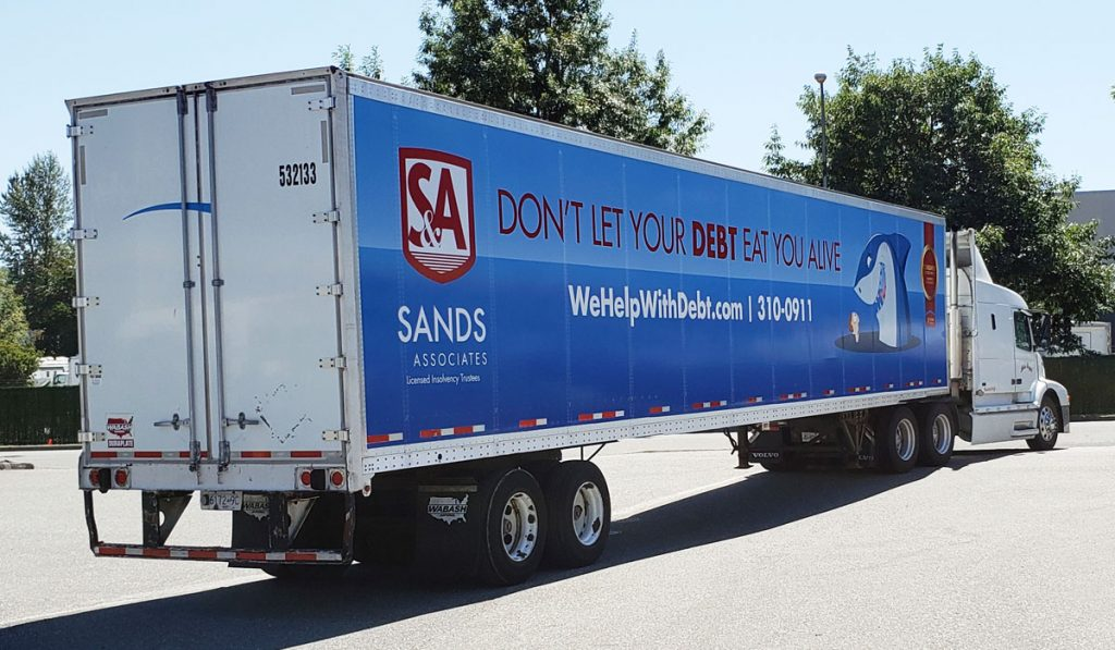 Mobile Billboards on 18 WHEELS